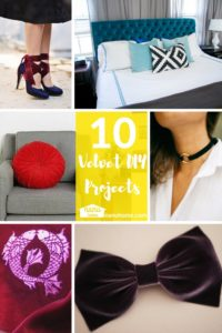 10 Velvet DIY Crafts
